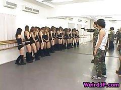 Huge japanese gangbang hardcore part6
